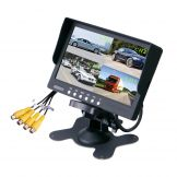 4 channel quad 7 inch bus LCD monitor Model: BD-7003Q
