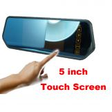 5 inch car mirror  monitor  with touch screen Model: BD-7105T